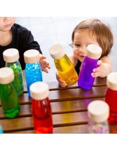 Botella sensorial NARANJA PETIT BOUM