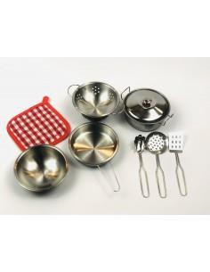 Set Cocina 9 piezas Goki