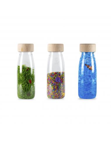 Botella sensorial Pack Eco PETIT BOUM