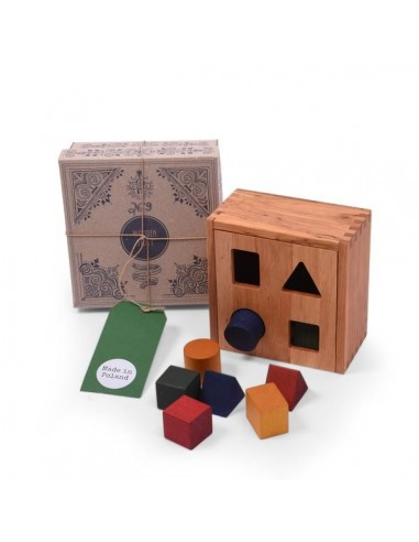 Caja formas colores Wooden Story