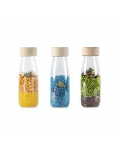 Botella sensorial Pack Nature PETIT BOUM