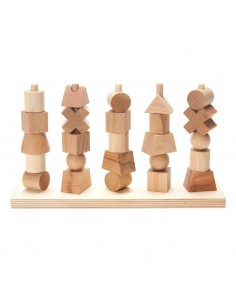 Natural Stacking Toy Wooden Story