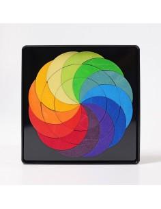 Magnet Puzzle Rainbow Wheel Grimm´s