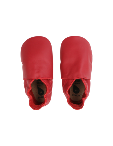 Zapato suela blanda Bobux ROJO