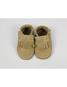 Zapato de gateo Moccassin POLOLO  Stone