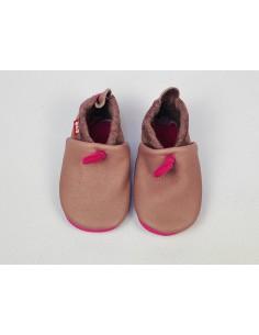 Zapato suela blanda POLOLO AMIGO Malva