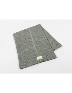 Cuello lana/seda gris PICKAPOOH