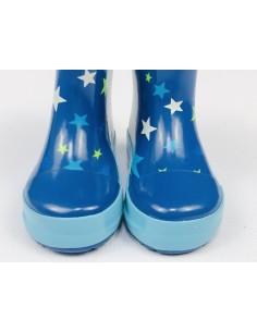 Botas caña baja Playshoes Estrellas azules