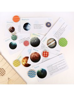 Sistema solar encajar FIZZIDEAS