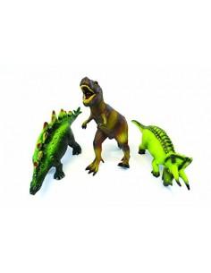 74854 Soft Rubber Animals - Dinosaurios