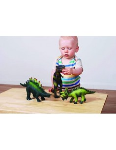 74854 Soft Rubber Animals - Dinosaurios