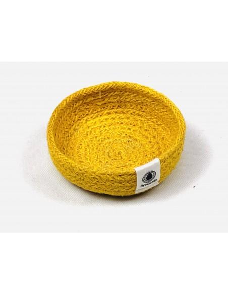Platito amarillo Yute Anidando (unidad)