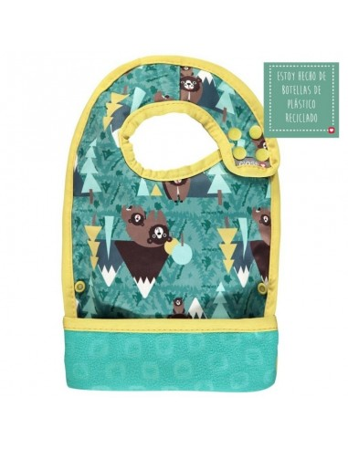 Babero Reversible Bear Pop In