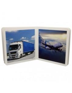 """Libro de fotografías """"Medios de Transporte"""" NOWORDBOOKS"""