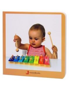 """Libro de fotografías """"Instrumentos Musicales"""" NOWORDBOOKS"""
