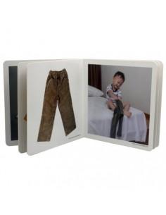 """Libro de fotografías """"A Vestirse"""" NOWORDBOOKS"""
