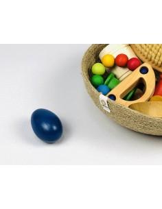 Huevos maraca de madera