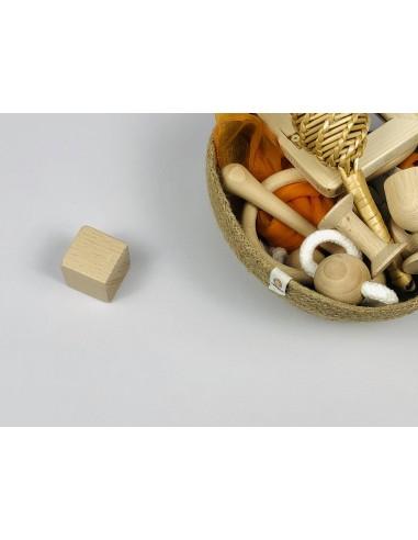 Granel Cubo de haya natural (unidad)