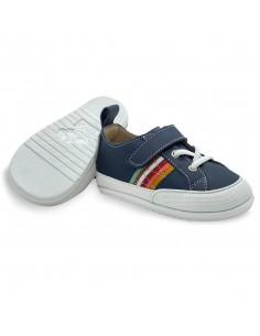 Zapato Feroz Turia Arcoíris Azul AW20