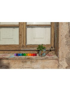 Mandala Huevos Rainbow de Grapat