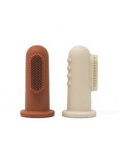 Cepillo Dental dedal de silicona