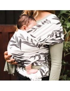 Fular elástico algodón orgánico LEAVES Baby On Earth