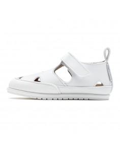 Zapato Feroz Sandalia Altea Microfibra Blanca SS21