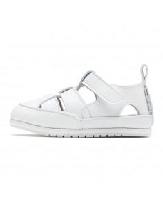 Zapato Feroz Sandalia Acuática Irta Microfibra Blanco SS21