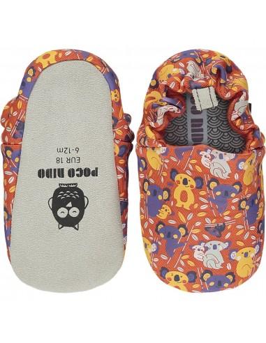 Poco Nido Koala Orange Mini Shoes - SS21
