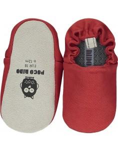 Poco Nido Rock Red Mini Shoes - SS21