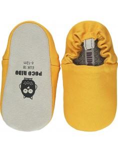 Poco Nido Vegan Shoes: Wattle Yellow Mini Shoes- SS21