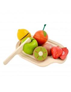 Surtido de frutas para cortar PlanToys