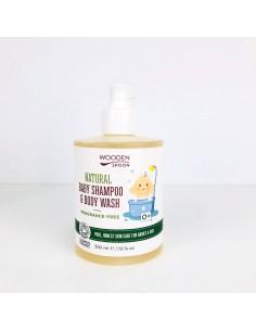 Champú-gel sin fragancia WOODEN SPOON