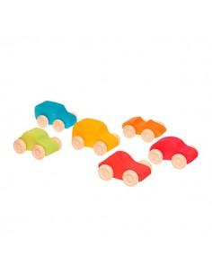 Seis colores de coches para elegir