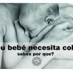 Por que o teu bebé recén nacido quere colo?