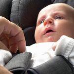 A primeira silla de auto do voso bebé