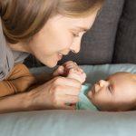 Beneficios da masaxe infantil