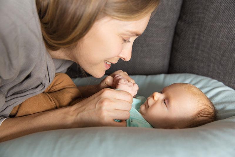 Mamá e bebé