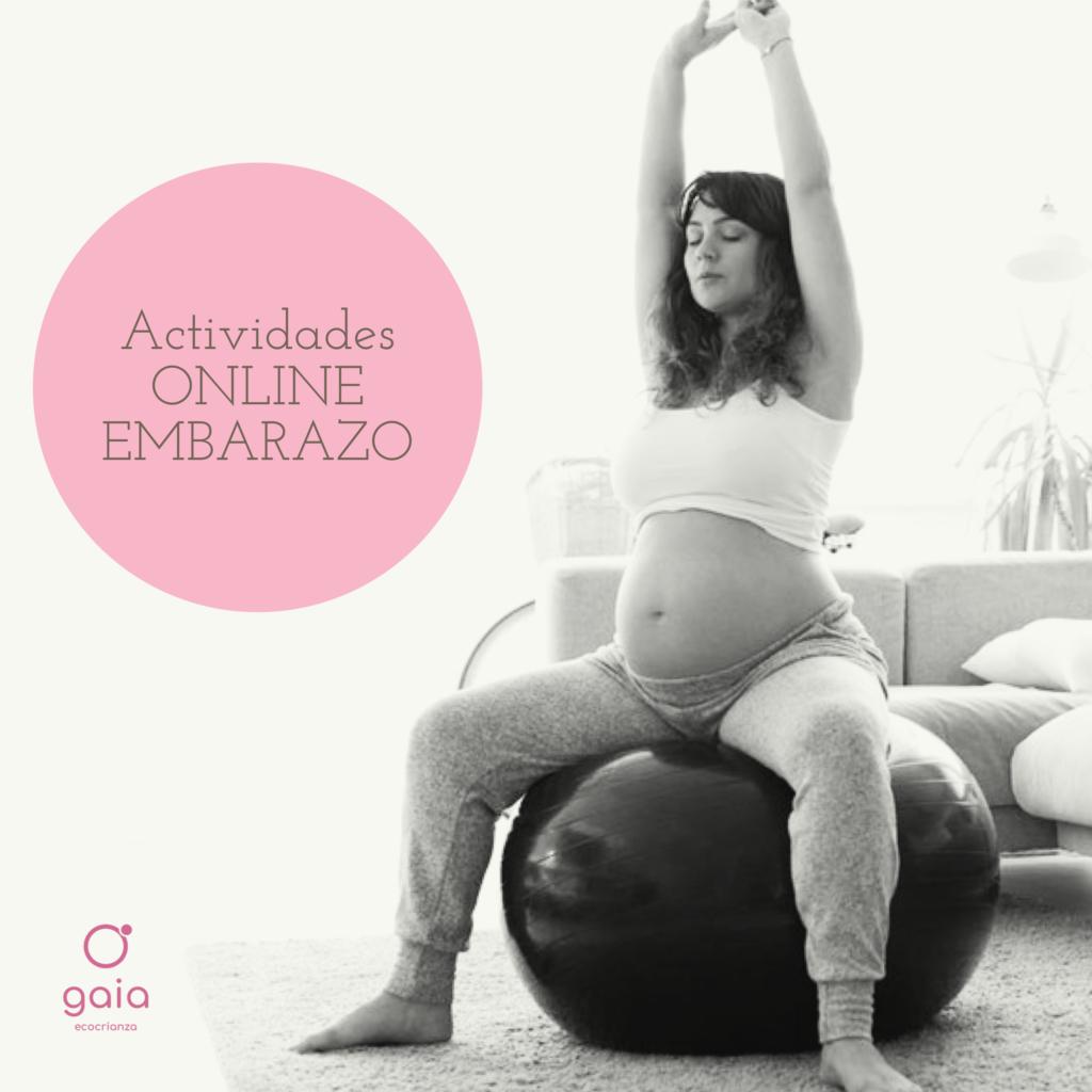 Actividades online para el embarazo