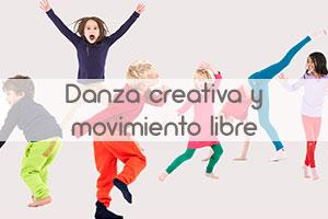 Danza creativa y movimiento libre