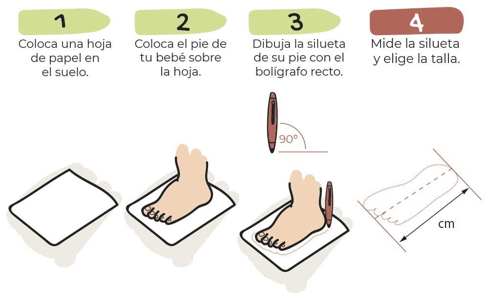 Guía de Tallas Zapato Feroz